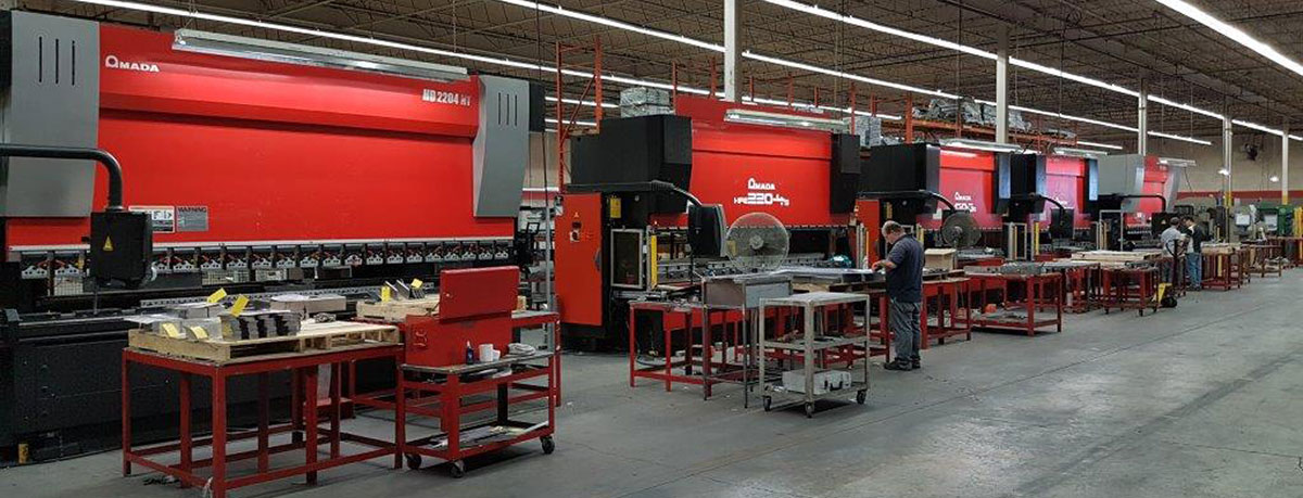 Image of the Dana Precision 41,000 sq. ft manufacturing facility.